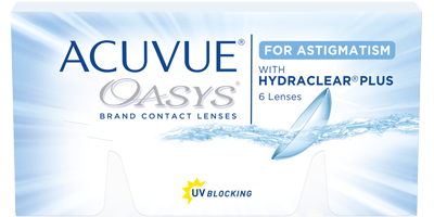 ACUVUE OASYS® for ASTIGMATISM